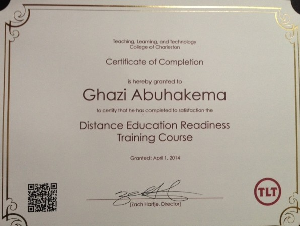 Distance Education Completion Course